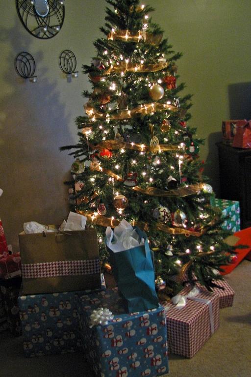 Oh Christmas Tree, oh Christmas tree.