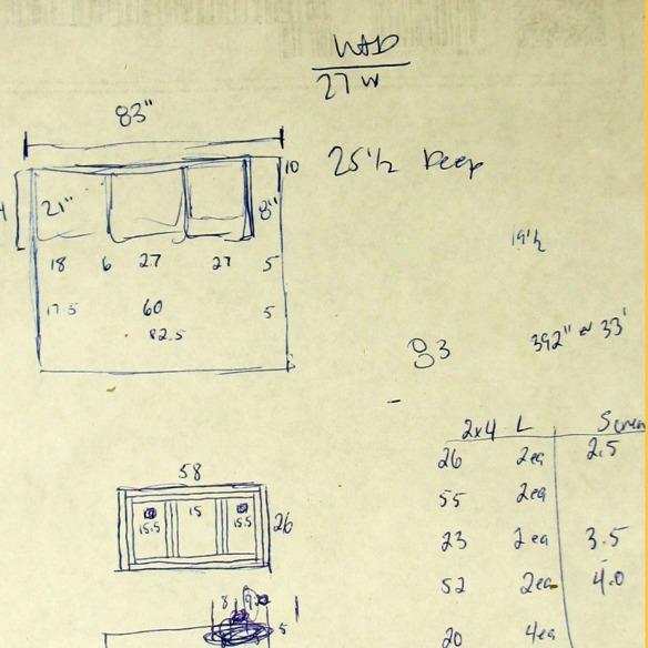 Laundry Room platform drawing
