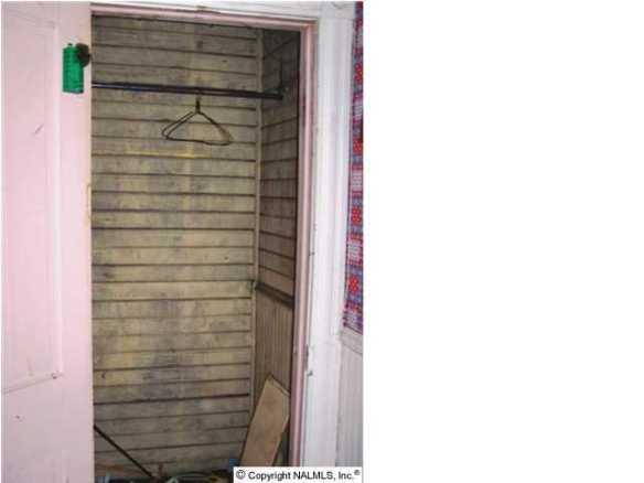 Bradley house closet