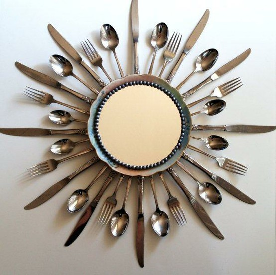 Quirky sunburst