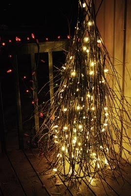 christmas tomato tree