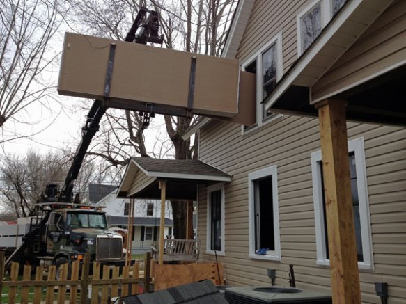 Drywall-delivery-upstairs
