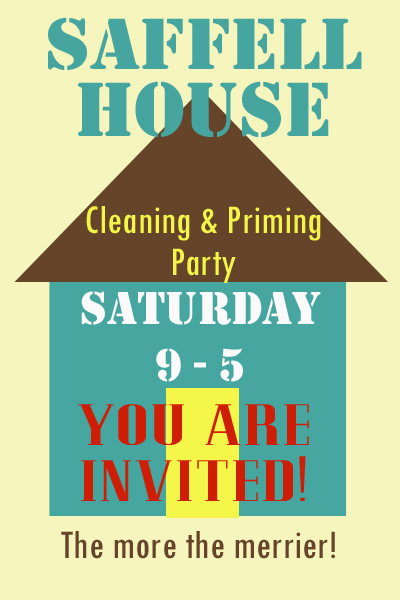 House help invitation copy