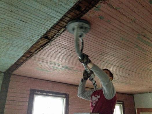 ceiling_sanding