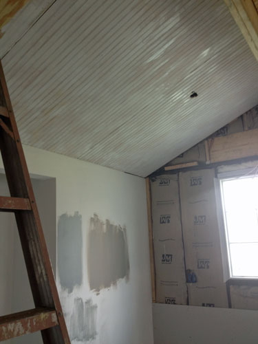 Kitchen-priming-ceiling