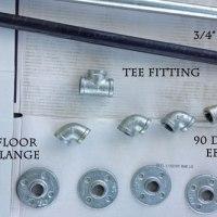 DIY Curtain Rods: Plumbing Parts Edition
