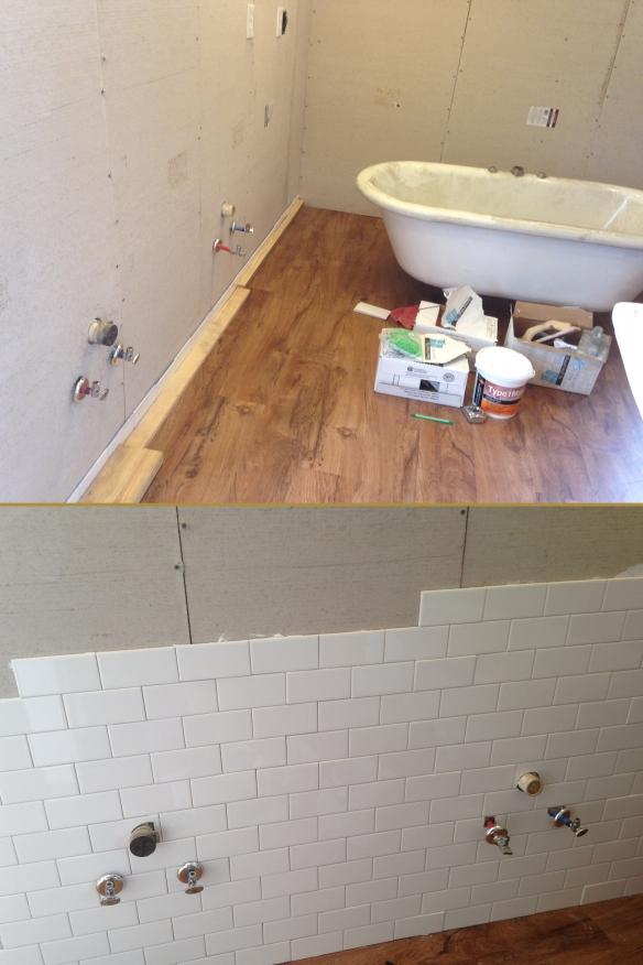 master bath sink wall tile