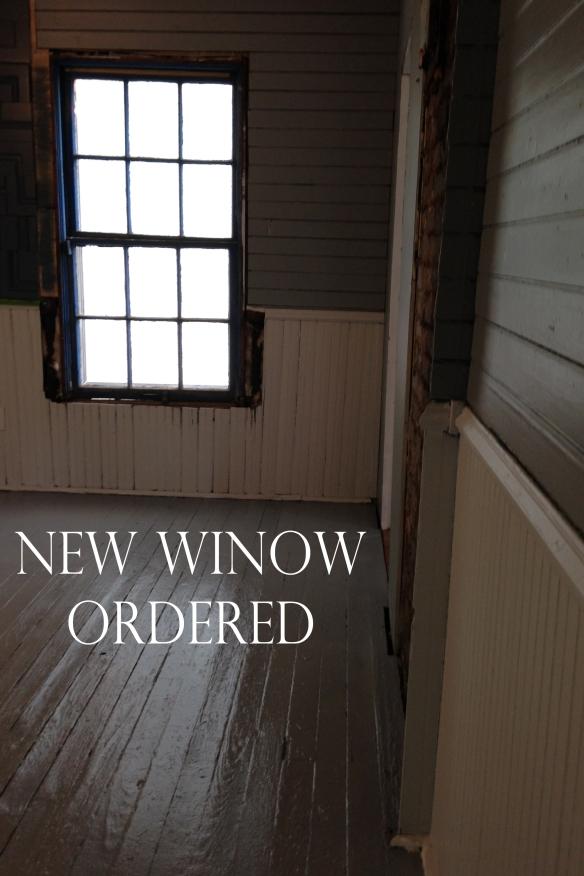 Master bedroom painted_window