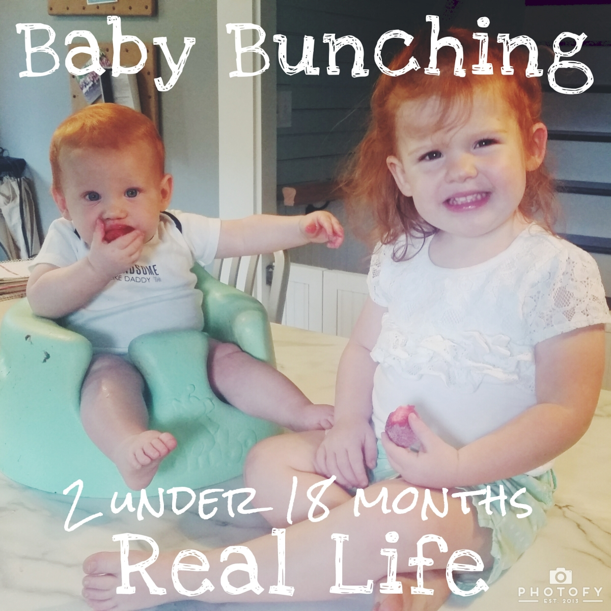 Baby Bunching: 8 months in